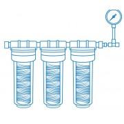 Системы очистки воды, комплектующие