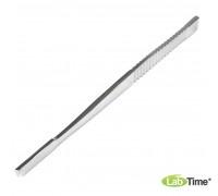 Долото с рифленой ручкой, плоское, 6 мм.