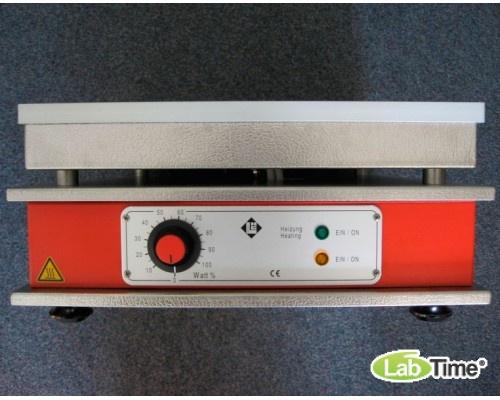 Плита нагревательная HD 1, алюминий, 350x350мм, 370град, Gestigkeit