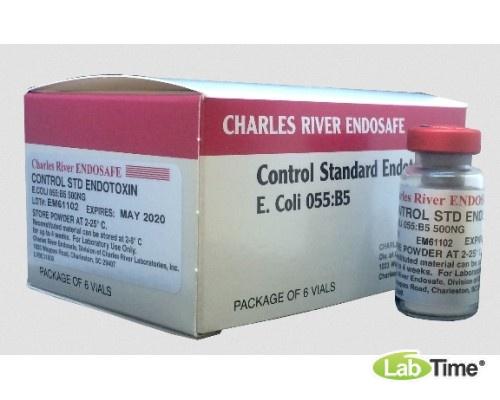 Контрольный стандарт эндотоксина 500 нг/флак, 6 фл/пак