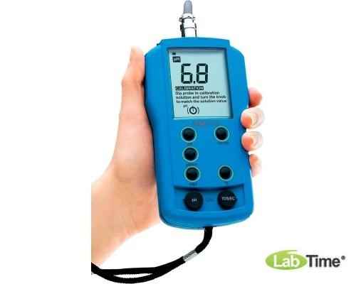 HI 9811-5 pH-метр/кондуктометр портативный водонепроницаемый (pH/EC/TDS/T)