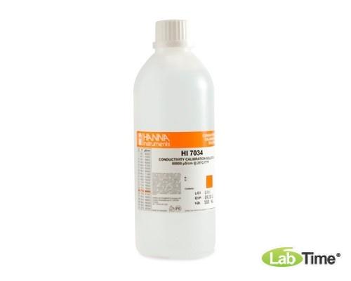 HI 7034L Раствор калибровочный 80000 мкСм/см (460мл)