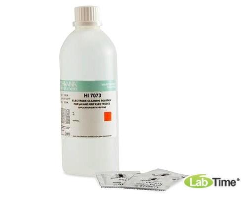 HI 7073L Раствор для очистки рН-электродов от белков (460мл)