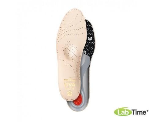 Ортопедическая каркасная стелька-супинатор для летней обуви VIVA HIGH р.44
