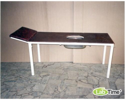 Кушетка для промывки кишечника (с нерж. мойкой) КПК-1