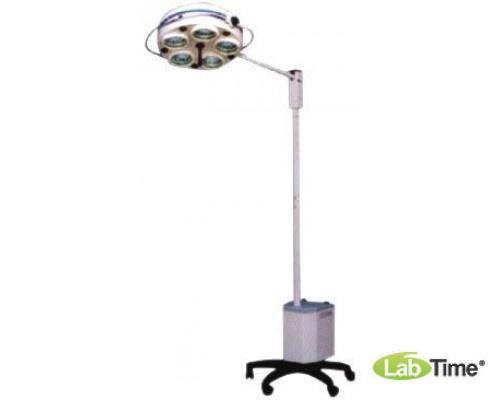 Светильник операционный бестеневой L 735Е- пятирефлекторный передвижной (аварийное питание)