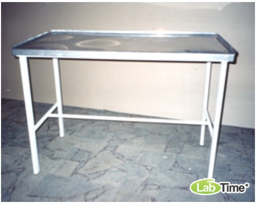 Стол Зомберга (1200х600х850х) с нержавеющей панелью СЗ-1