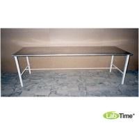 Стол перевязочный с матрацем (нерж. панель) СП-2н
