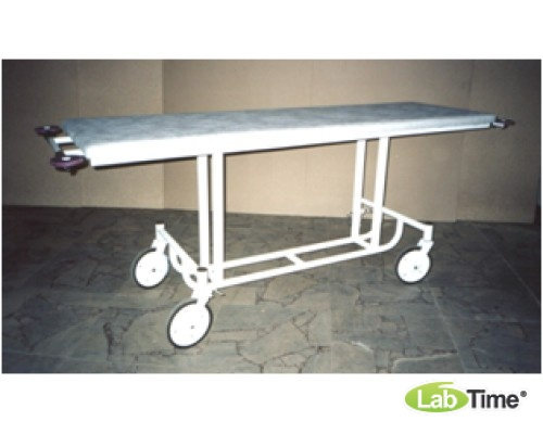 Тележка для перевозки больных со стац.по высоте панелью ТБФ-4