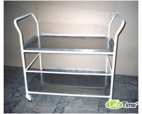 Тележка для хранения и перевозки стерил.коробок 3 полки ТХБ-2
