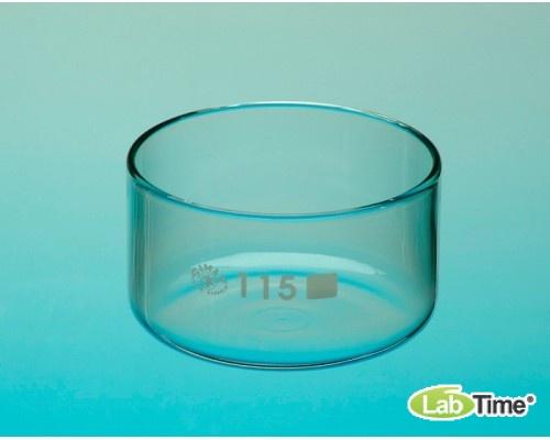 Чаша кристализационная, V-380мл, D-115мм, Чехия