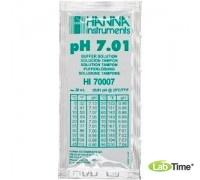 HI 70007C Раствор калибровочный рН:7,01 упак. 25 шт. по 20 мл с сертификатом