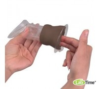 Модель для обучения пользованию женским презервативом, темная кожа