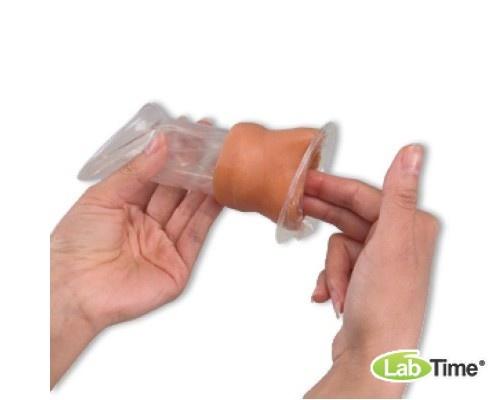 Модель для обучения пользованию женским презервативом, светлая кожа