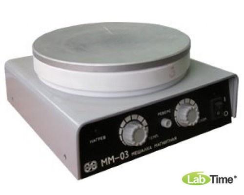 Мешалка магнитная с нагревом ММ-03