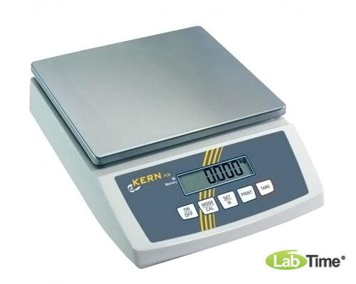 Весы KERN FCB 6K0.5 (НПВ 6кг, ц.д 0.5г, платф. 252х228мм)