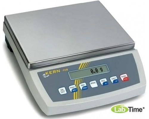 Весы KERN FKB 8K0.1A (НПВ 8кг, ц.д 0.1г, платф. 340х240мм)