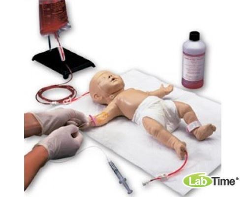 Тренажер для отработки катетеризации центральных вен ребенка