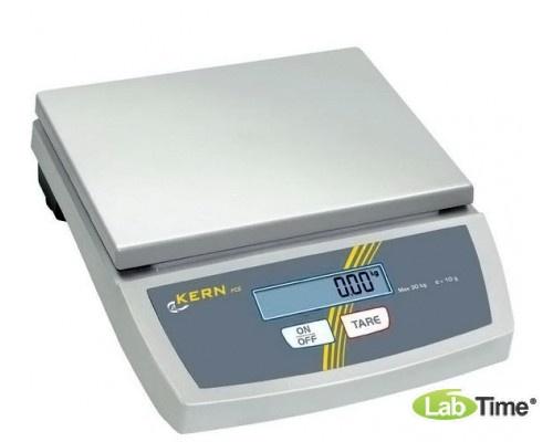 Весы KERN FCE 6K2 (НПВ 6кг, ц.д 2г, платф. 252х228мм)