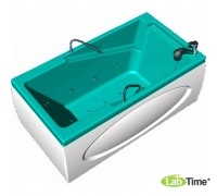 """Бальнеологическая ванна """"Ультра"""" ВБ-04 с системами подачи газа и гидроаэромассажа (8 водных форсунок, 10 воздушных форсунок)"""