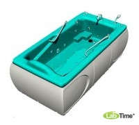 """Бальнеологическая ванна """"Астра 1"""" ВБ-04 с системой гидроаэромассажа (8midi, 8micro, 2super водных форсунок, 10 воздушных форсунок"""