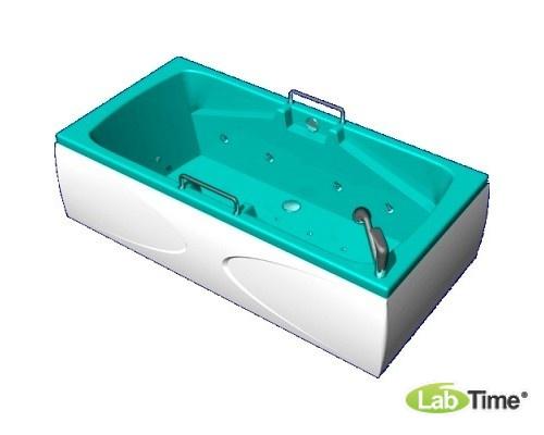 """Бальнеологическая ванна """"Астра"""" ВБ-04 с системами подачи газа и гидроаэромассажа (8 водных форсунок, 10 воздушных форсунок)"""