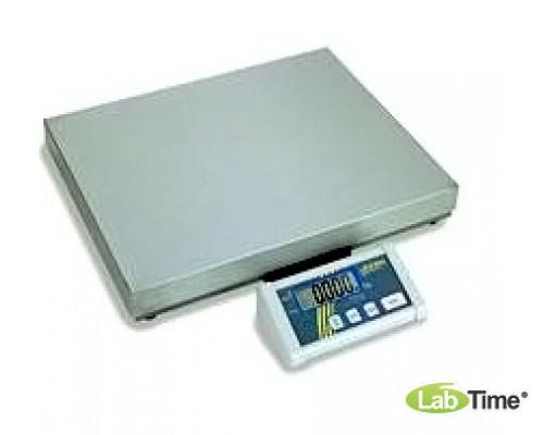 Весы KERN платформенные DE 6К0.5A (НПВ 6кг, ц.д.0.5г, платф. 318х308мм)