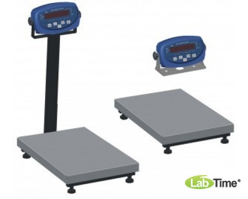 Весы AXIS BDU300С -0405 со стойкой (1,0-300/50, платф 400х566) бюджет