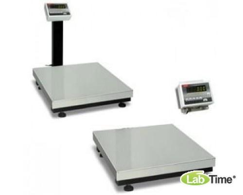Весы AXIS BDU150С -0808 со стойкой (0,4-150/20, платф 800х800) стандарт