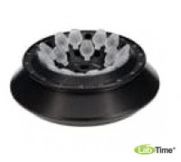 Ротор угловой алюминиевый с полисульфоновой крышкой 17882, 18х1,5/2,2 мл для пробирок 15008, 15040 или 18х0,25/0,4 мл для пробирок 15014, двухрядный