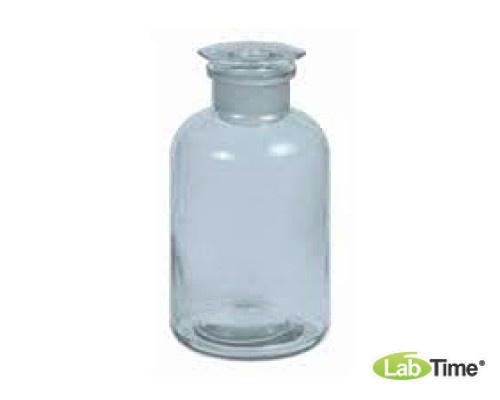 Бутылка стеклянная 2 л с конической пробкой