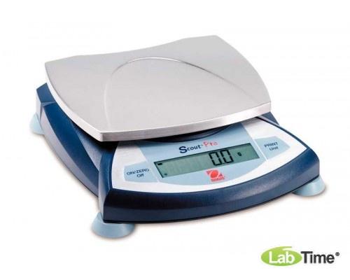Весы OHAUS SPS 402F (400/0.01г/d120), внешн.калибровка (в компл. гиря 200г)