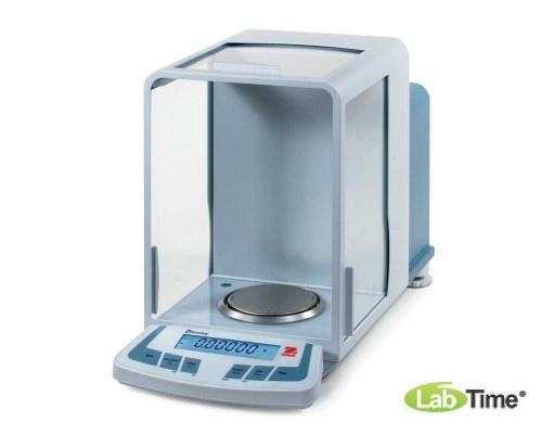 Весы OHAUS DV 214С І кл. (210/0,0001г, d90мм), внутр.калибровка