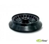 Угловой ротор алюминиевый с герметичной пластиковой крышкой, 24х1,5-2,0 мл для пробирок 15008, 15040