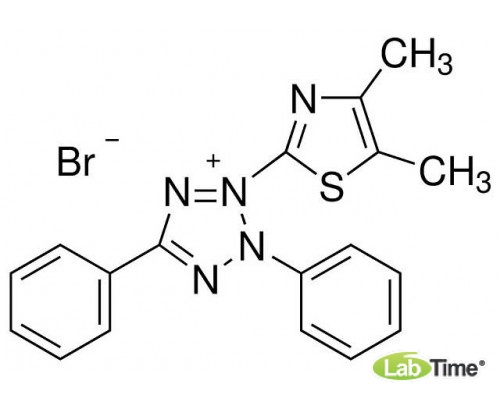 M5655 Тиазолил голубой тетразолиум бромид, д/микробиологии, 97,5%, 1 г (Sigma)