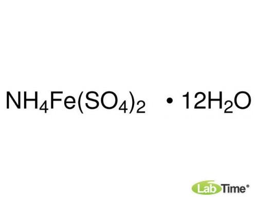 09729 Аммоний железа(III)сульфат*12H2O, (соль Мора), BioUltra, 99,0%, 50г (Fluka)