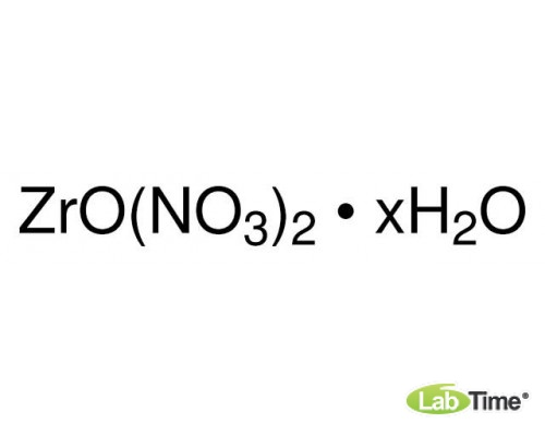 43224 Цирконил азотнокислый гидрат, 99,9% (metals basis), 25 г (Alfa)