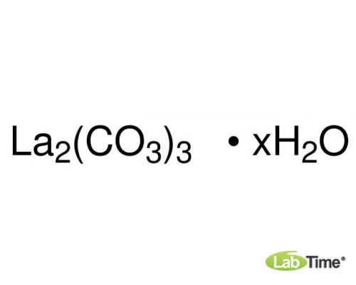 16639 Лантан углекислый гидрат, 99,9%, 100 г (Alfa)