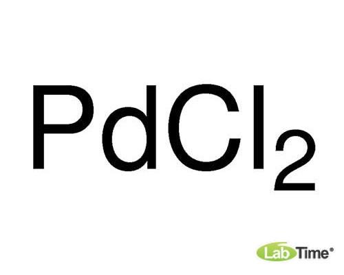 11034 Палладий (II) хлорид, 99,9% (metals basis), мин. Pd 59,5%, 50 г