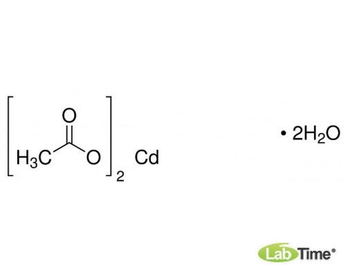 22189.294 Кадмий уксуснокислый дигидрат, AnalaR NORMAPUR, аналитический реагент, мин. 99%, 1 кг (Prolabo)