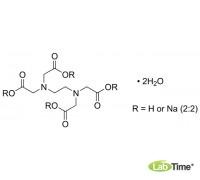 Трилон Б (ЭДТА динатрий дигидрат), аналитический реактив, ACS, ISO, Reag.Ph.Eur., мин. 99,0%, 250 г