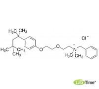 Бензетониум хлорид 0.004 mol/l водный раствор, 1 л