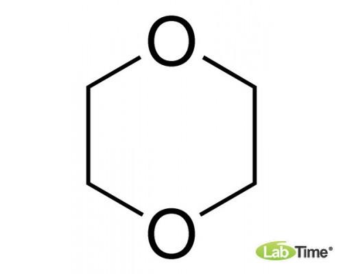 23532.297 Диоксан-1,4, GPR RECTAPUR, стаб-й, 99%, 1 л