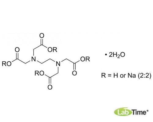 A2937.0100 ЭДТА динатриевая соль дигидрат, д/молекулярной биологии, мин. 99%, 100 г (AppliChem)