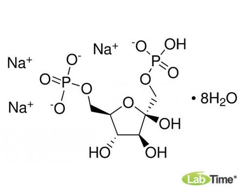 A1507.0005 D-Фруктозо-1,6-дифосфат тринатриевая соль октагидрат, д/биохимии, мин. 98%, 5 г (AppliChem)