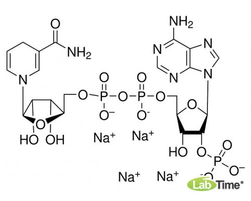 A1395.0100 бета-Никотинамид аденин динуклеотид фосфат тетранатриевая соль, мин. 96%, 100 мг (AppliChem)