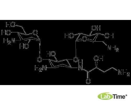 H011745 Амикацин примесь А (3-HABA Kanamycin A), 200 мг