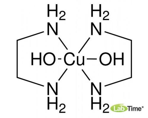 Медь (II) этилендиамин комплекс (Bis(ethylenediamine)copper(II)hydroxide), 1 л