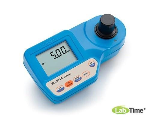 HI 96716 колориметр, анализатор брома (0-8,00 мг/л)