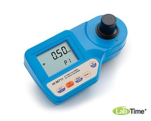 HI 96711 колориметр, анализатор свободного и общего хлора в воде